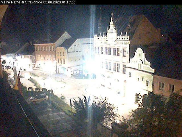 Strakonice Live Cam, Czech – Big square